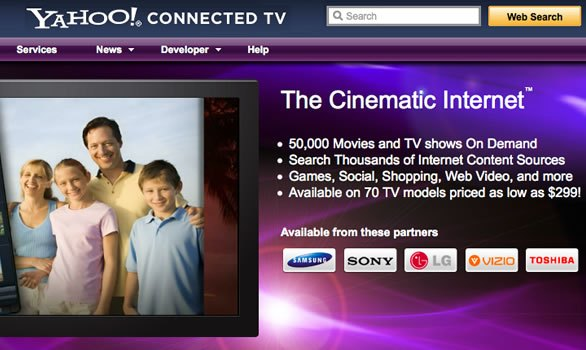 Yahoo! Connected TV