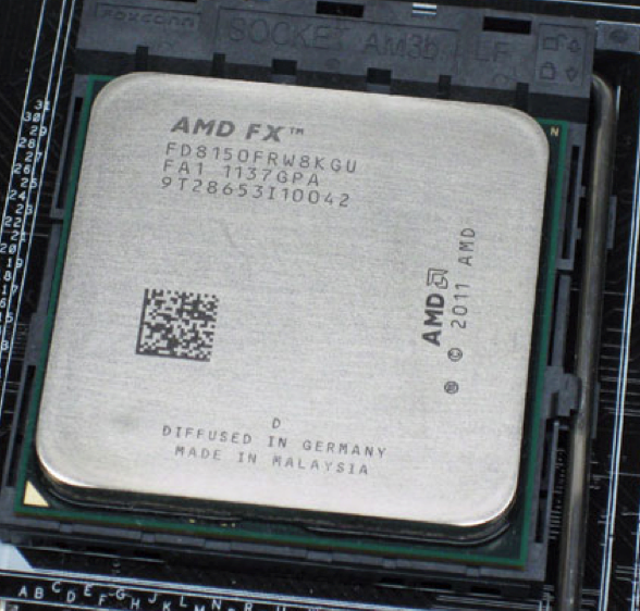 AMD Bulldozer FX-8150