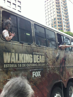 Ônibus The Walking Dead