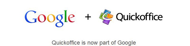 QuickOffice + Google